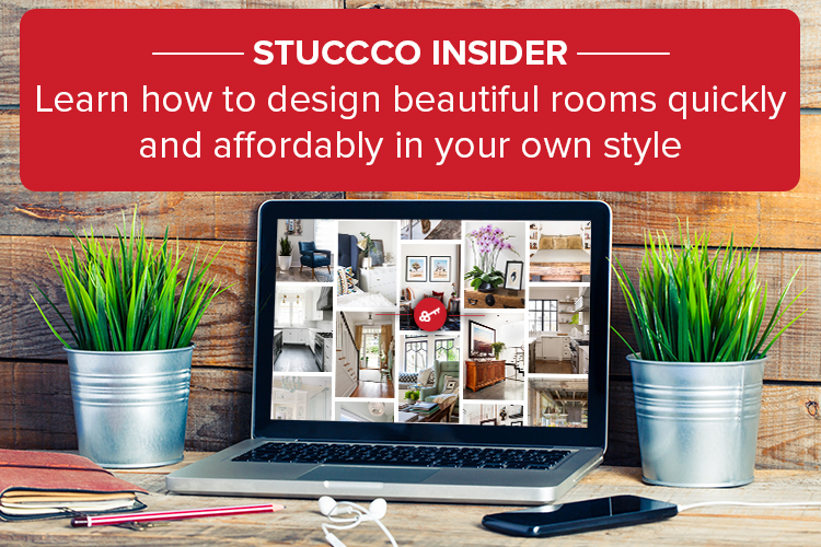 Learn how to design beautiful rooms quickly and affordably in your own style